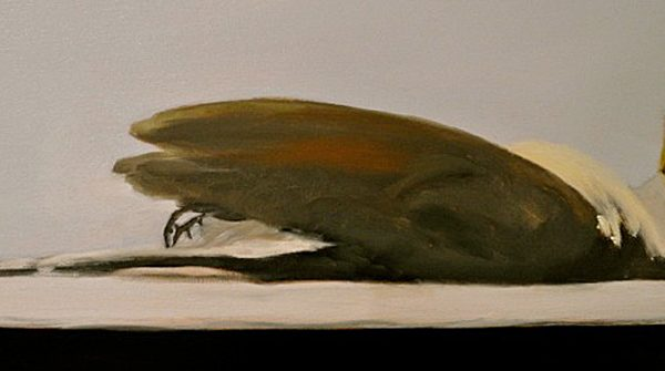 2011, Oil on canvas, 12 x 24 inches