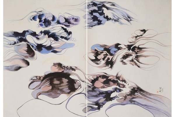 1971, ink on paper, 33 x 27 inches each