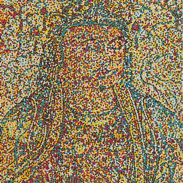 2016, Acrylic on canvas, 39.25 x 31.5in   100 x 80cm