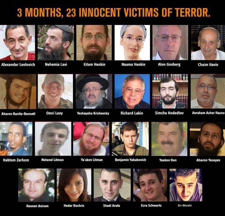 23 victims