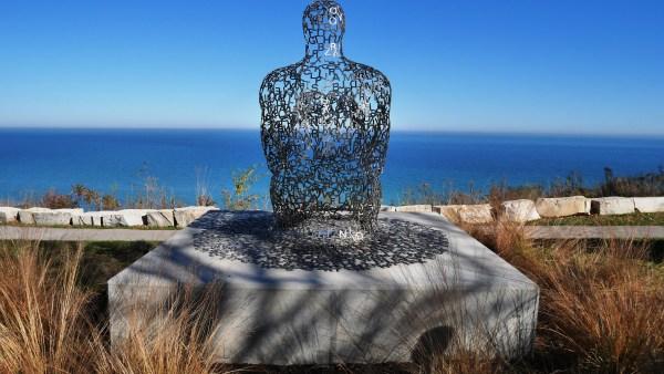 Jaume Plensa's Spillover II • Shorewood, WI