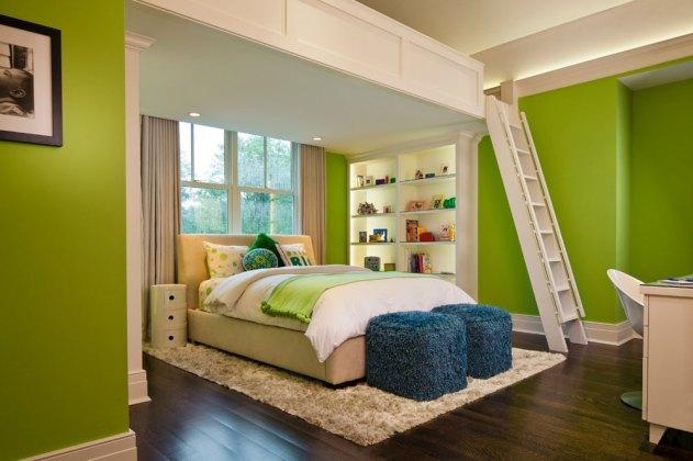 zelena-spalna-poschodie