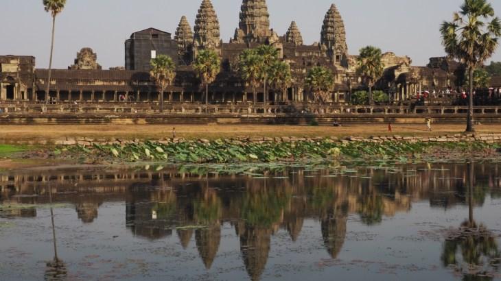 【カンボジア・シェムリアップ】バイクでアンコールワット遺跡巡り
