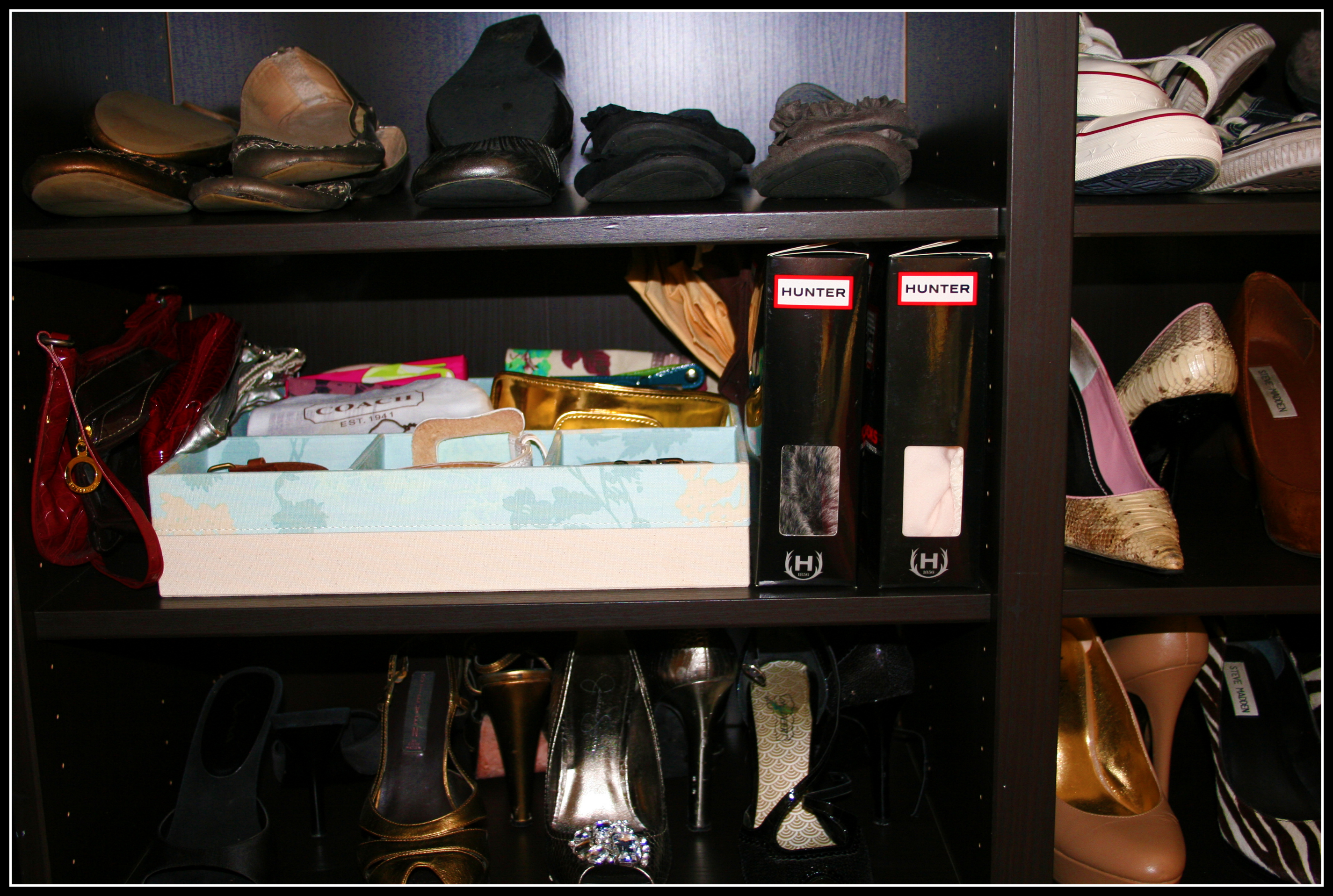 The Great Bedroom Organization Of 2011 Shoes Bags And Ikea