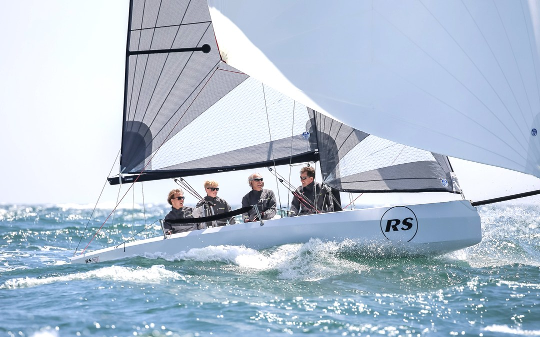 RS Aero leaves for a life aboard a yacht!