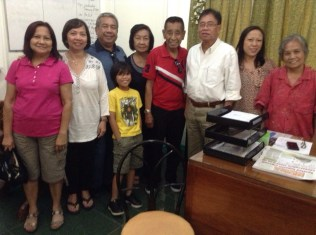 Meeting with Mayor of Tagudin Jose V. Bunoan, Jr.