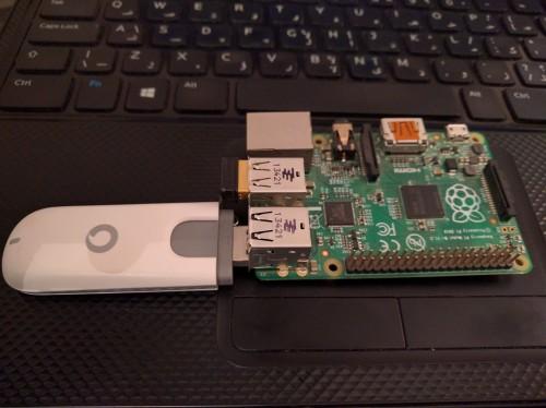 Raspberry Pi B+ WiFi Hotspot