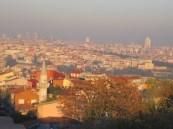Sun setting on Istanbul