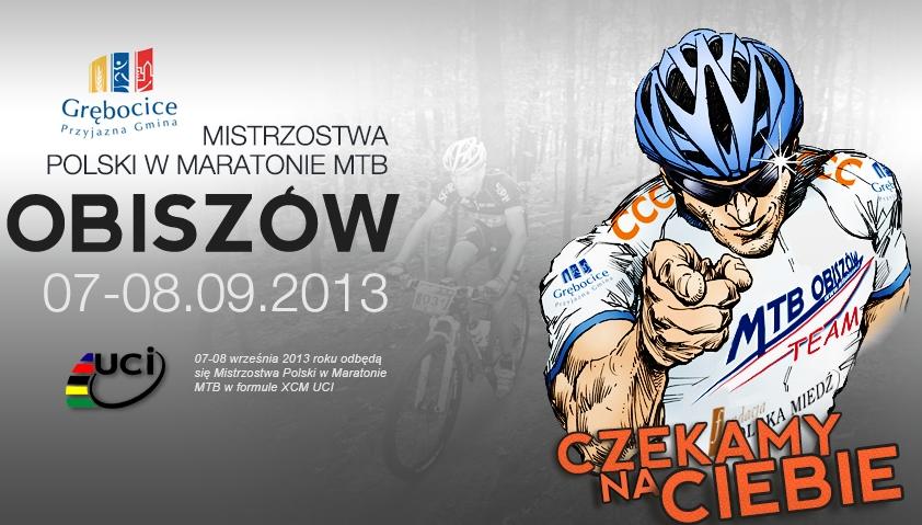 Mistrzostwa Polski w maratonie MTB – Obiszów 2013