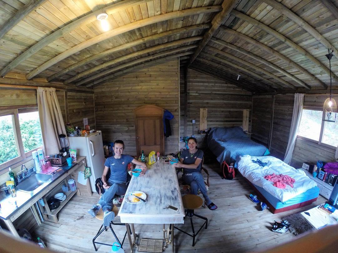 maja wloszczowska kross racing team kolumbia zgrupownie 2016 drewniany dom