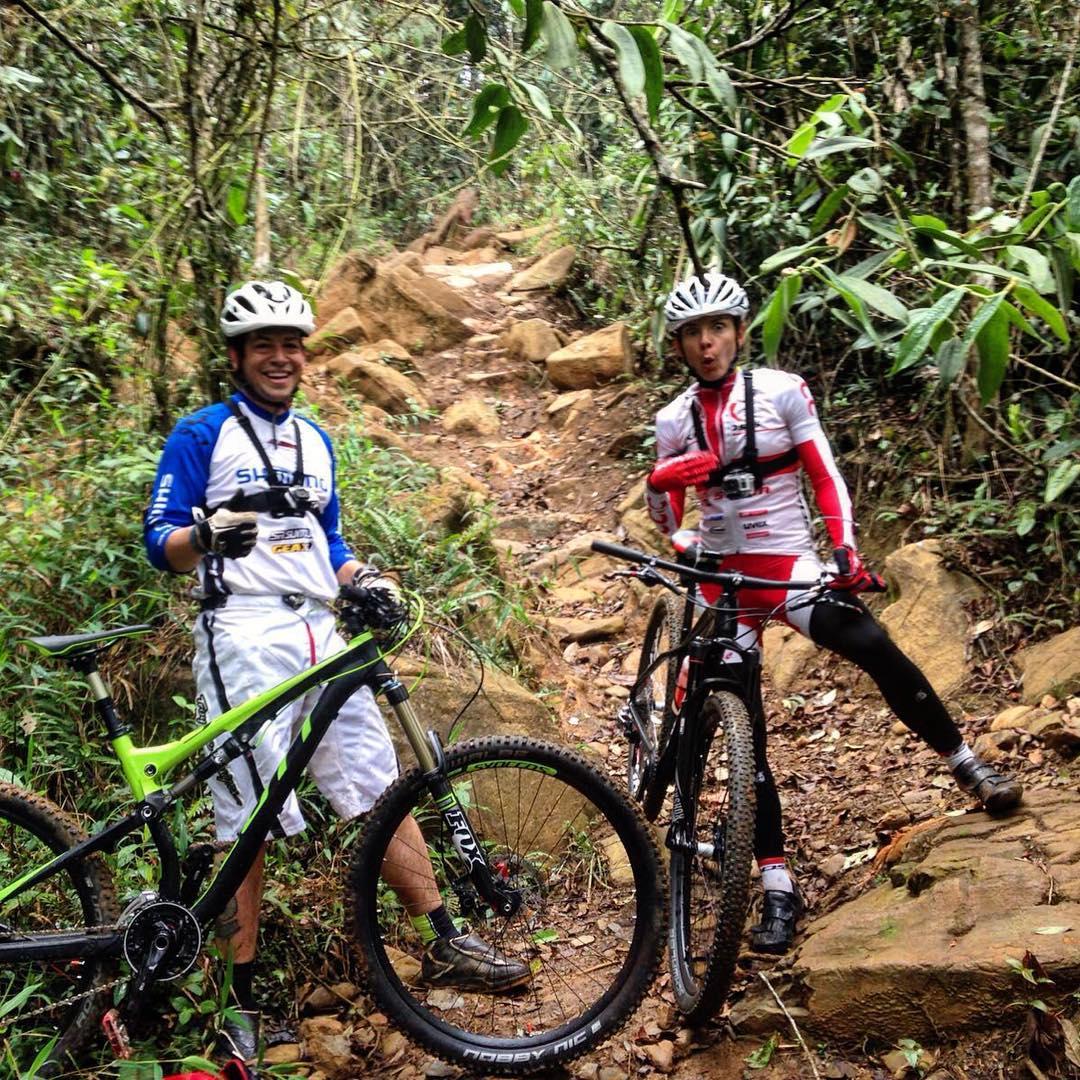 maja wloszczowska kross racing team kolumbia zgrupownie 2016 trening enduro