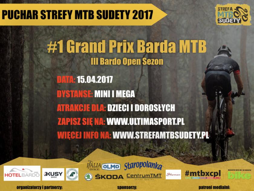 Już w najbliższą sobotę pierwsza runda Pucharu Strefy MTB Sudety w Bardzie