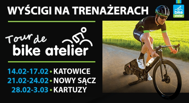 Kolarskie ściganie zimą – Rusza Tour de Bike Atelier 2018