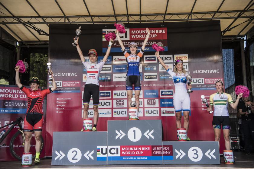 Włoszczowska i Neff na podium. Kross Racing Team najlepszą polską drużyną