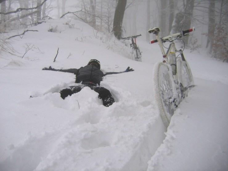Orzełek na śniegu (made in Piter)