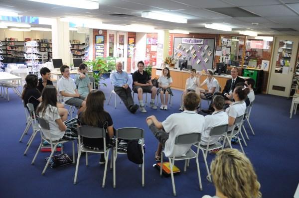 Martin Seligman visits Mt Barker High « Mount Barker High ...