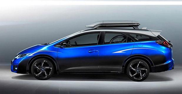 Civic Tourer, o carro conceitual da Honda