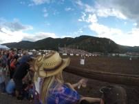 Barrel Racing at the Beaver Creek Rodeo