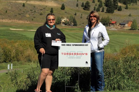 Lacey Sutherlin Torgerson Putting Contest Big Sky Golf
