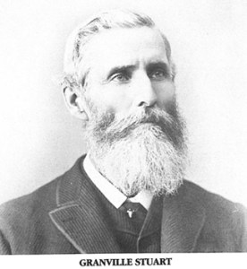 Granville Stuart Montana Stockgrowers
