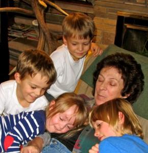 Bev Fryer Ranching Woman of the Year Grandchildren