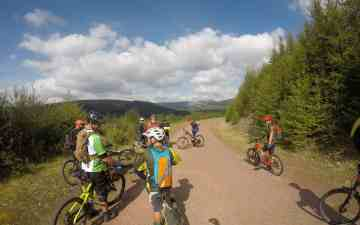 Brecon Beacons Gap mtb ride