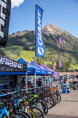the best bike demo in the universe, outerbike, in crested butte colorado
