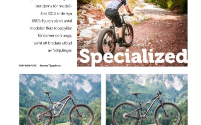 Nyheter 2015 — Specialized