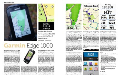 Produkttest — Garmin Edge 1000