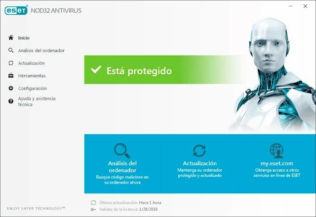 descargar ESET NOD32 Antivirus