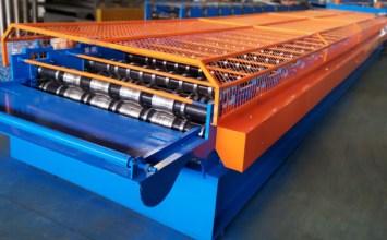 g550 trapzoidal sheet roll forming machine
