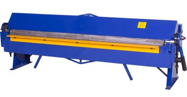4M hydraulic bending or folding machine with foot control