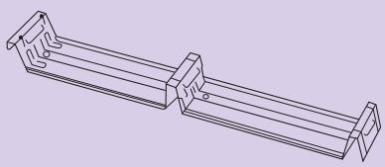 Fastener Clip for Klip lok 700