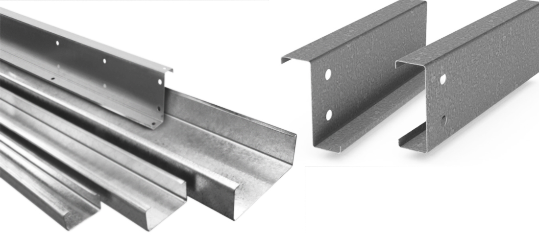 c and z steel purlins