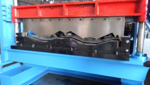 metal sheet roll forming machine cutter
