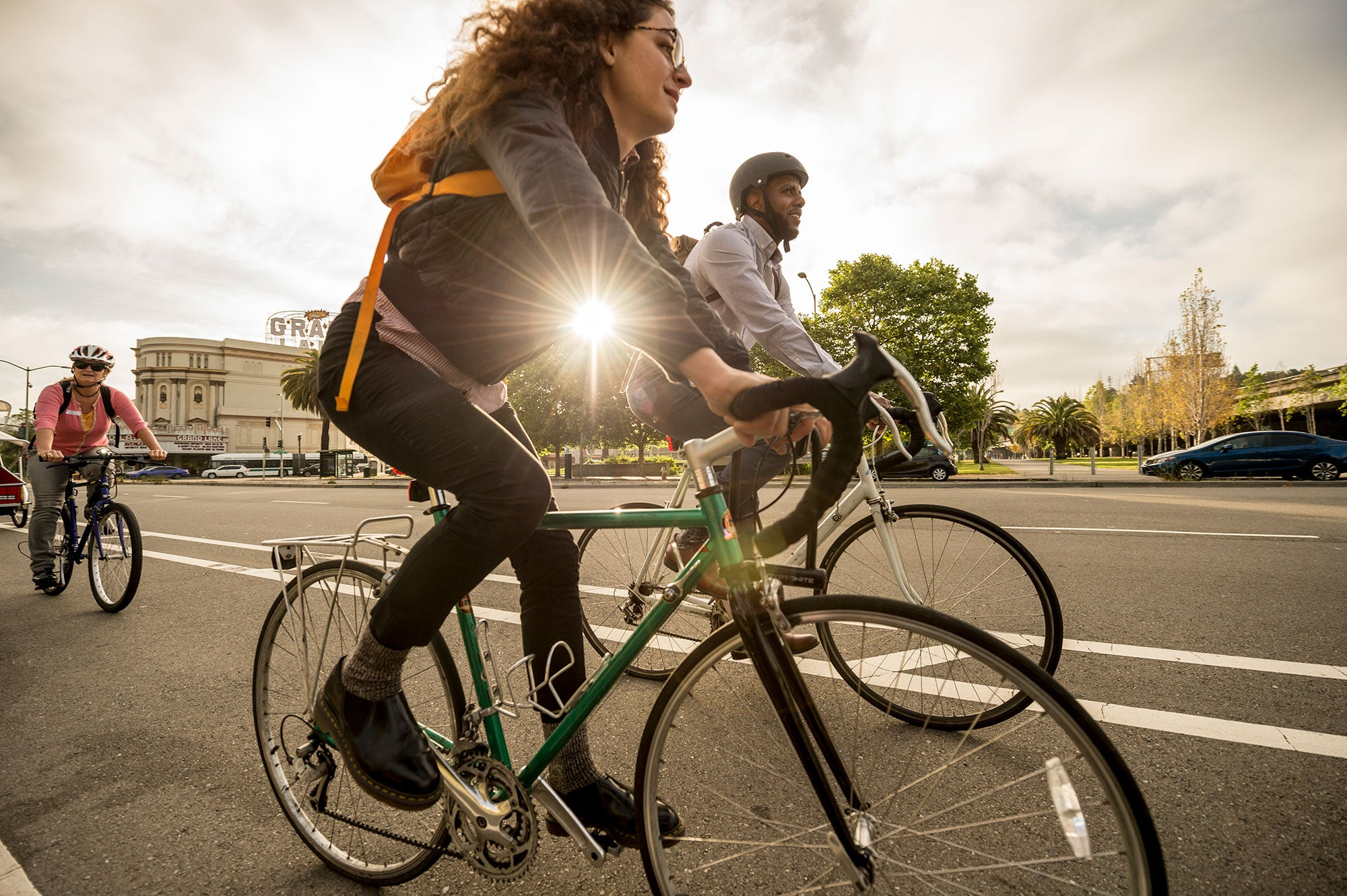 Nearly 100 000 Ride In Bay Area Bike To Work Day