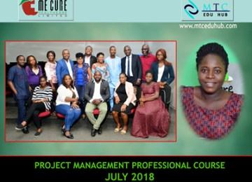 PMP Course July 2018 2