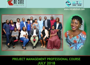 PMP Course July 2018 1