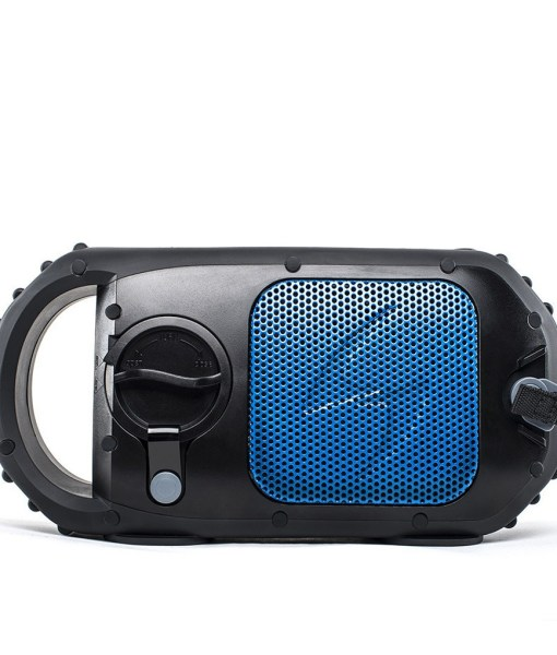 ECOSTONE Bluetooth Speaker, Speakerphone, Waterproof - Blue