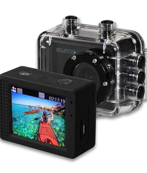 Guardo Action Cam One with Display Package