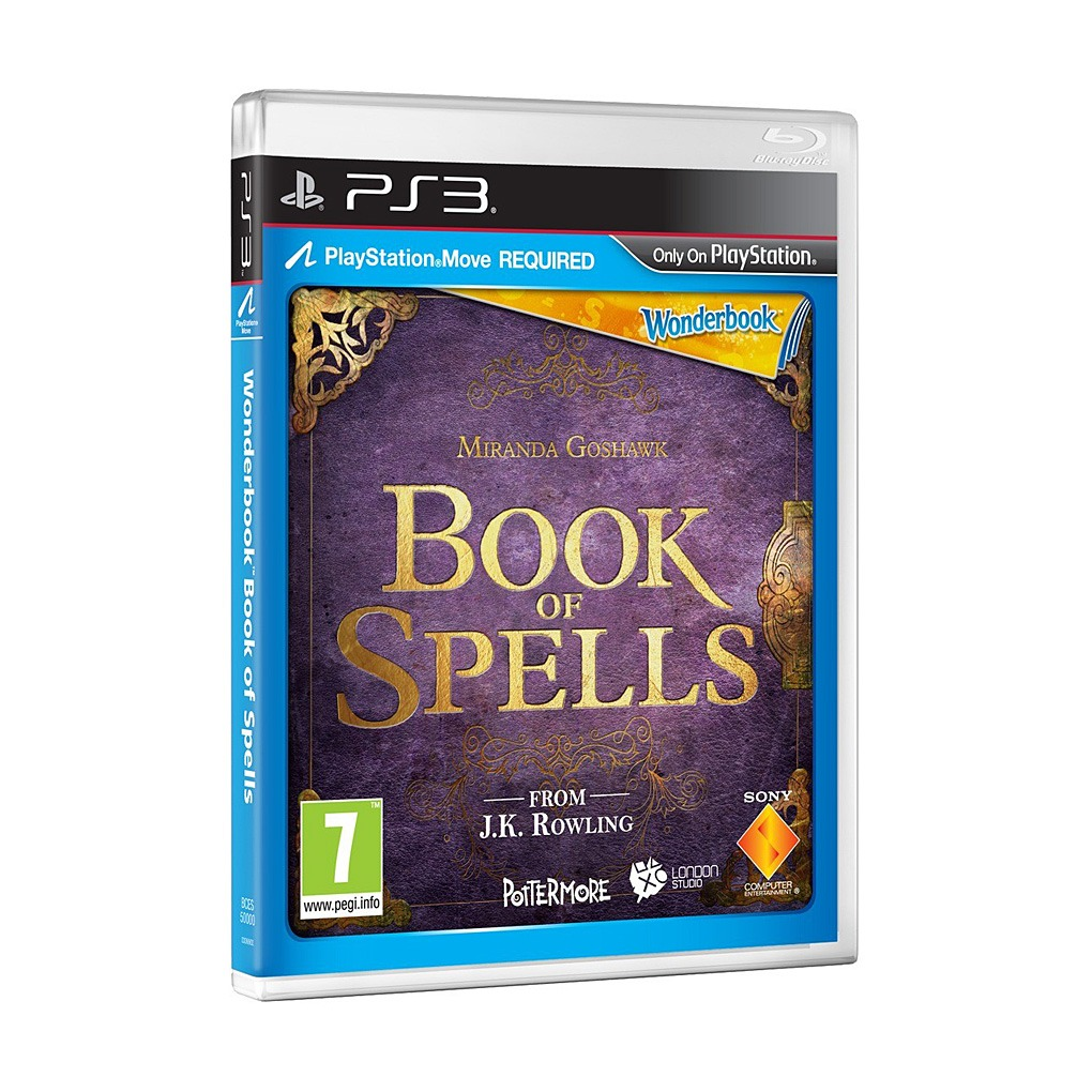 Playstation 3 Wonderbook Book Of Spells