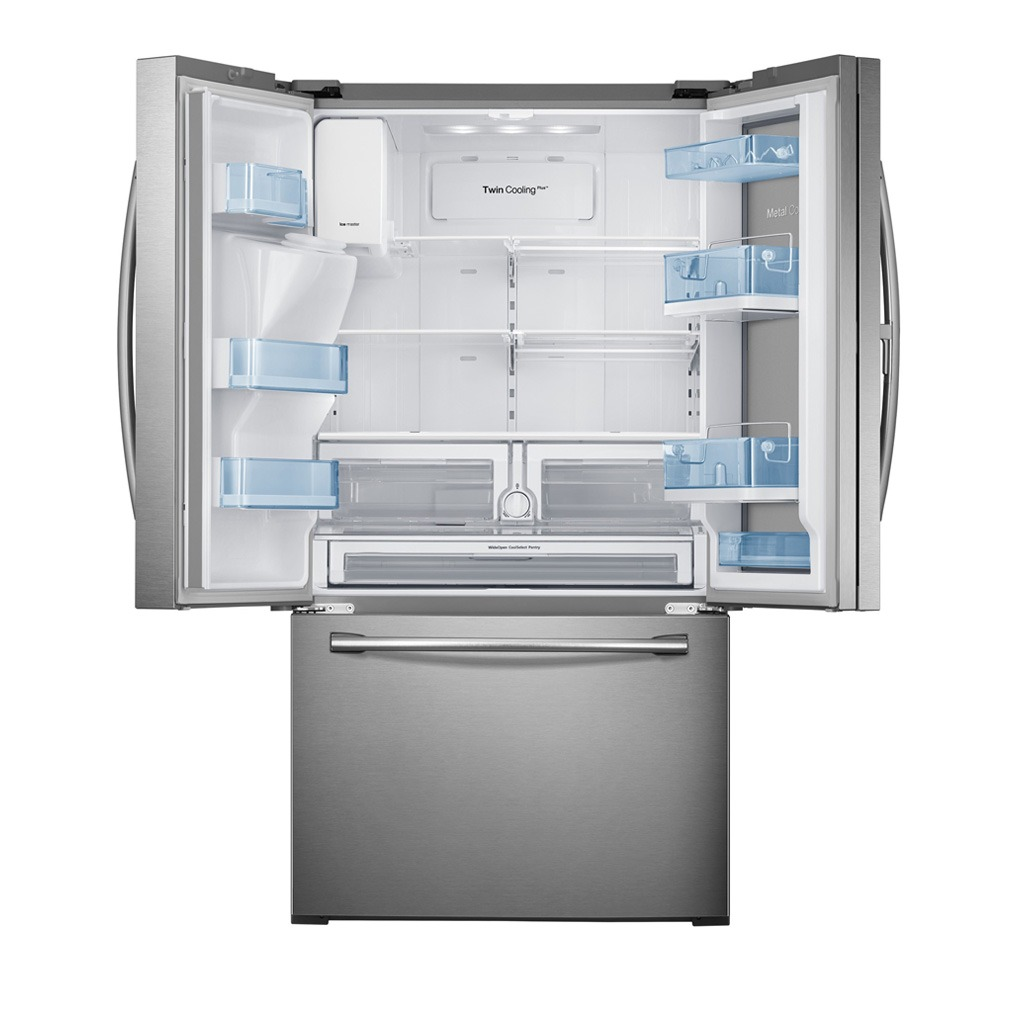 Samsung 27.8 cu.ft. 4-Door French Door Refrigerator SS RF28HDEDBSR
