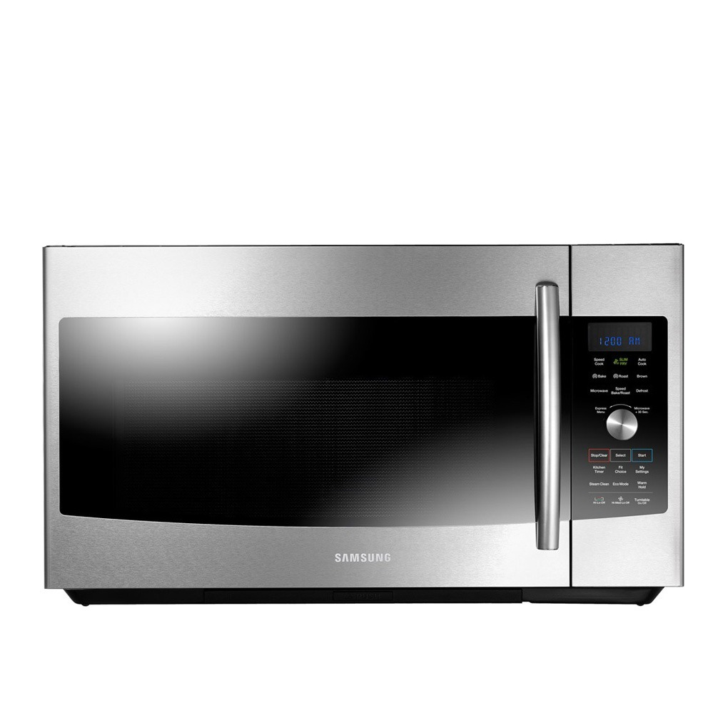 Samsung Over-The-Range Microwave 1.7 Cu. Ft. Stainless Steel MC17F808KDT