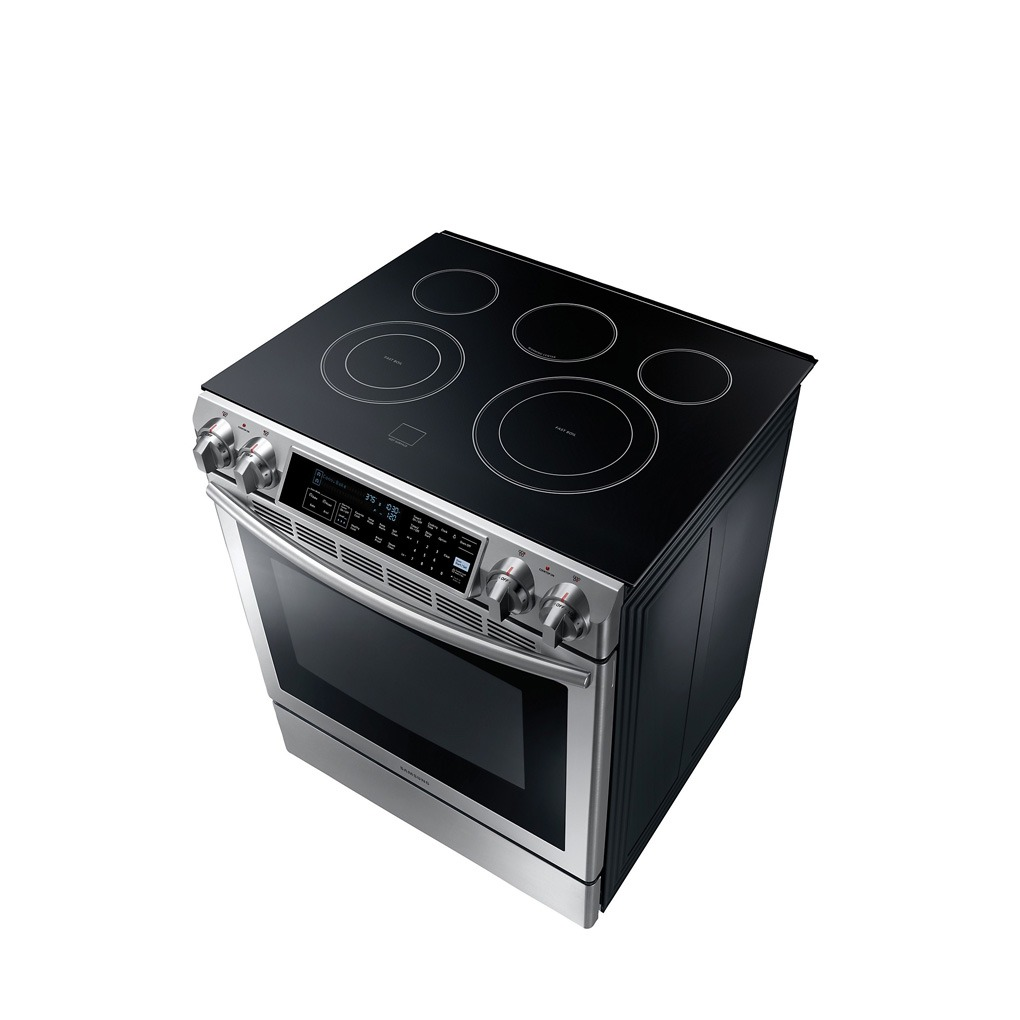 Samsung 5.8 cu.ft Slide In Electric Range SS T3 NE58F9500SSAC