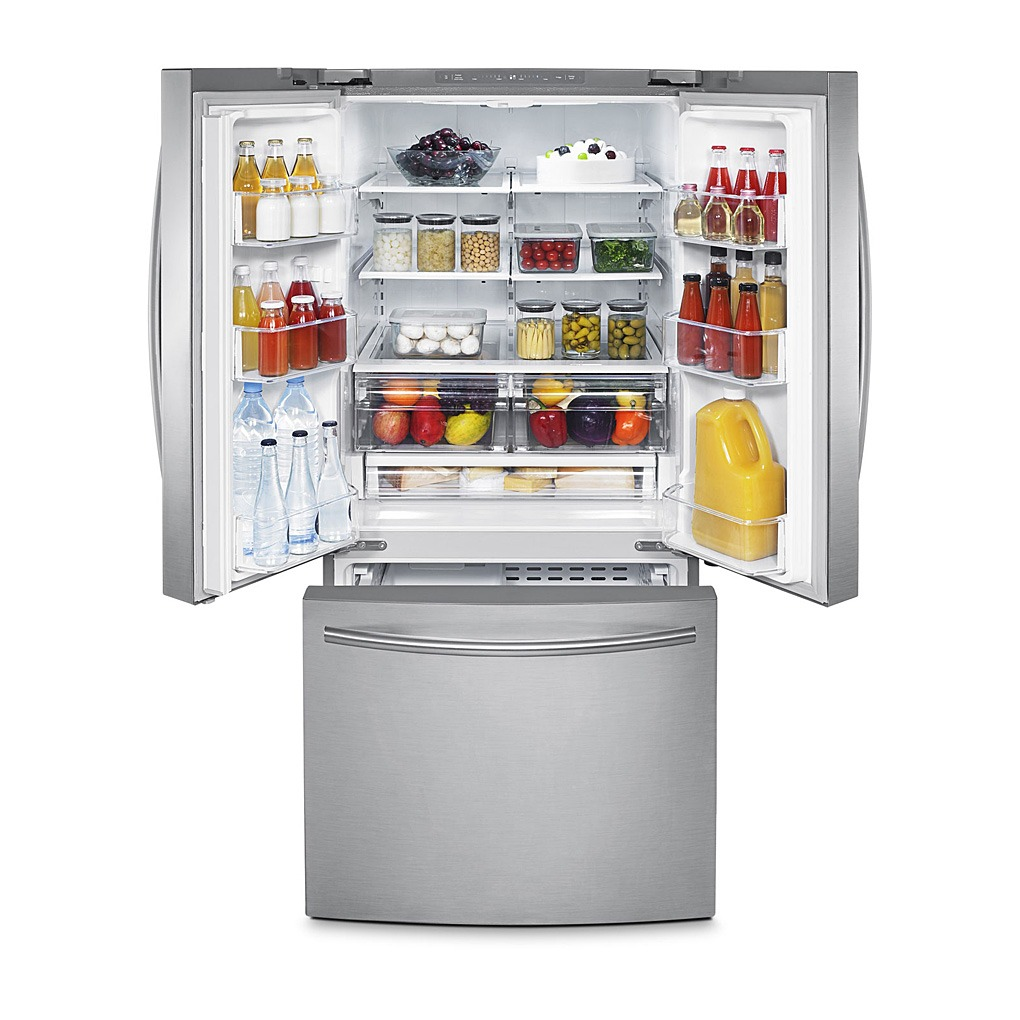 Samsung 21.6 cu.ft 3-Door French Door Refrigerator SS