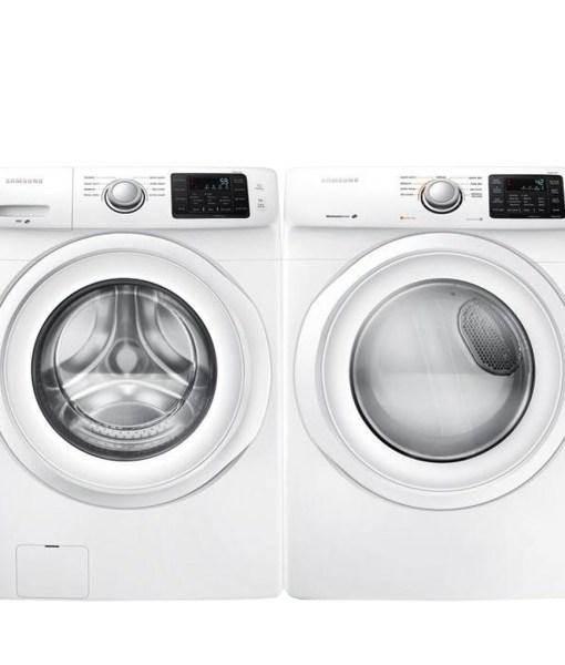 Samsung Washer & Electric Dryer Set - White WF42H5000AWA2 DV42H5000EWAC