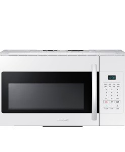 Samsung ME16H702SEW 1.6 Cu. Ft. 1000W Over-the-Range Microwave, White