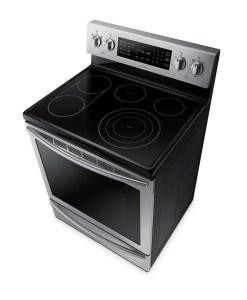 "Samsung 30"" Electric Range with Fan Convection, 5.9 cu.ft NE59J7651WS/AC"