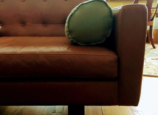 Part of a couch