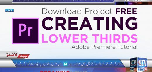 Download Adobe Premiere Lower Thirds